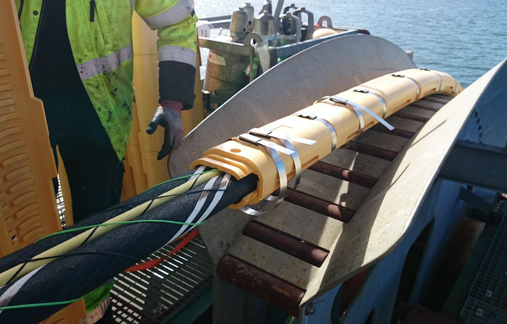 80 Kv Hvdc Connection 197 Land Finland Baltic Offshore